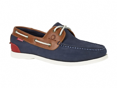 Chatham Boat Shoe Galley 11 Navy Tan